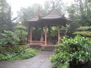 I just loved the little temples in Chengdu