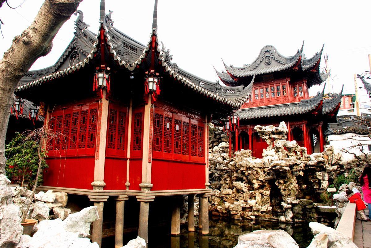 Shanghai Yuyuan Garden 1
