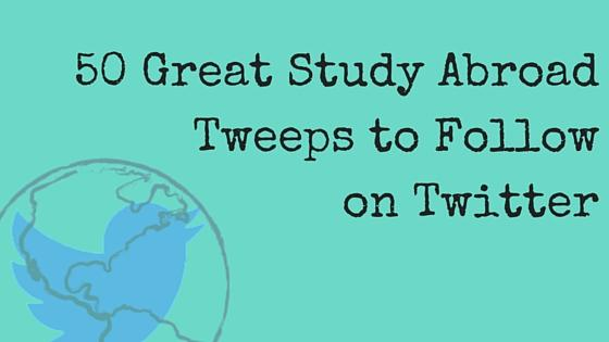 50 Great Study Abroad Tweeps