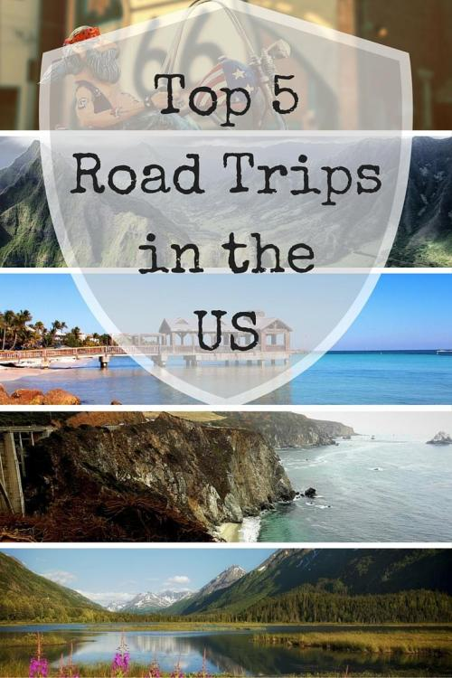 Top 5 Road Trips in the US