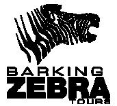 Barking Zebra Tours Logo