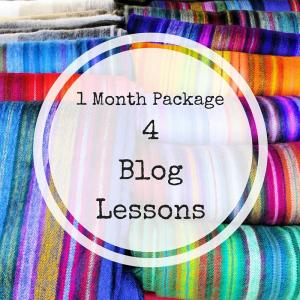 Blog Training 4 lessons