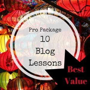 Blog Training 10 lessons