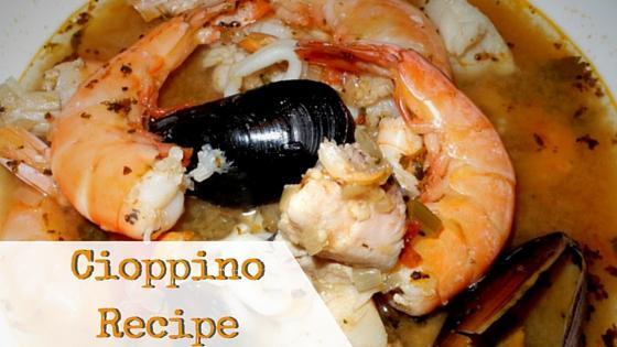 Cioppino Recipe