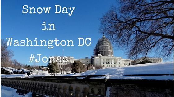 Snow Day in Washington DC