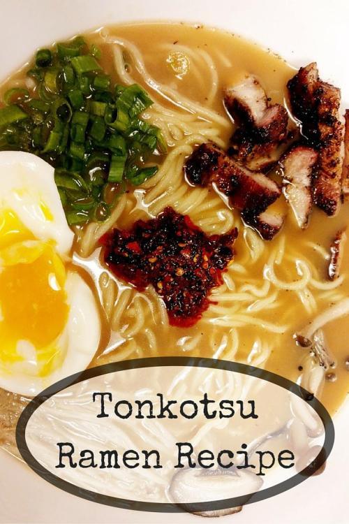 Tonkotsu Ramen Recipe - MariaAbroad