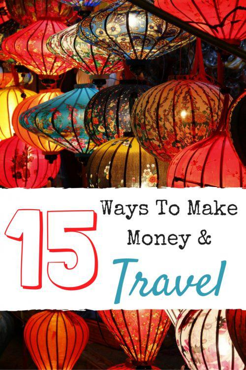 Do you want to travel AND earn money? Here are 15 easy ways and careers that allow you to travel and make money at the same time.