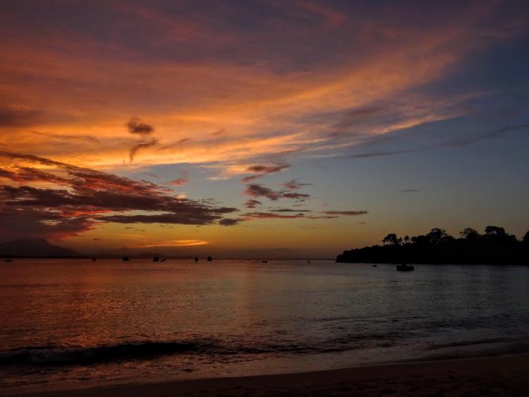 Sunset at Sosua Beach, Dominican Republic