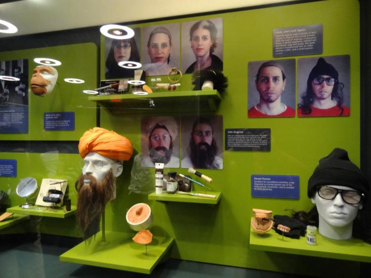 Masters of Disguise - Spy Museum Washington DC