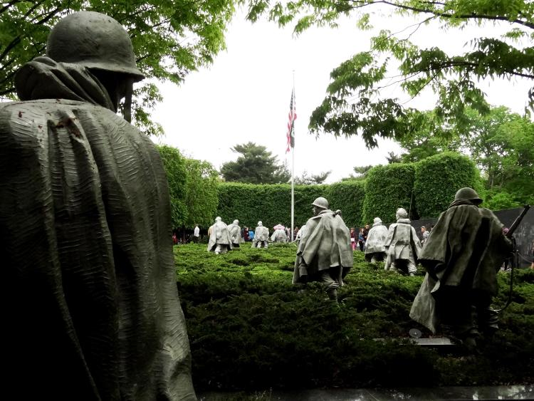 Washington DC Photo Safari - Korean War Memorial DC