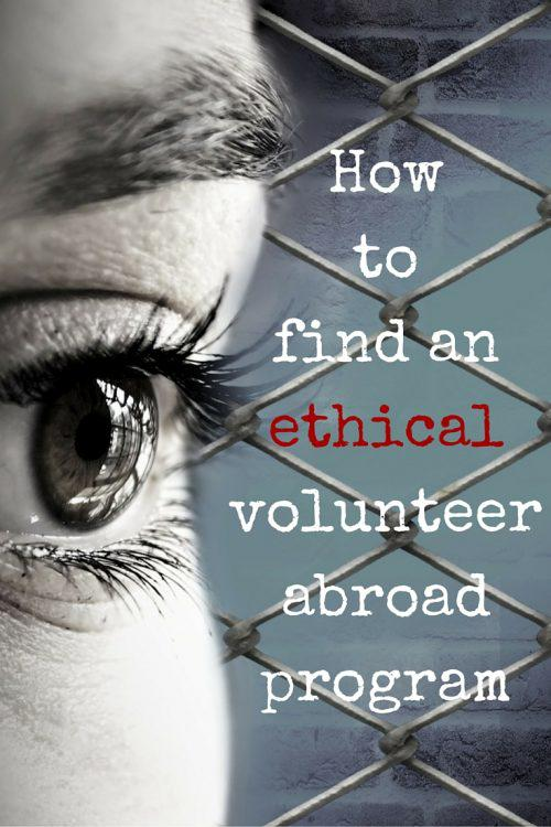 For a Good Cause: How to find an ethical volunteer abroad program