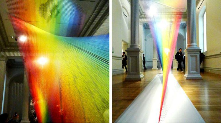 Renwick Gallery Wonders Exhibit Gabriel Dawe Collage