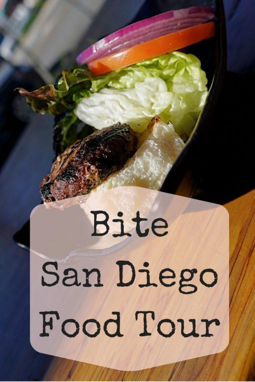 Bite San Diego is an amazing Food Tour option that takes you to all the best restaurants in San Diego. One of my favorite things to do in San Diego. Pin to save for your next trip to San Diego.