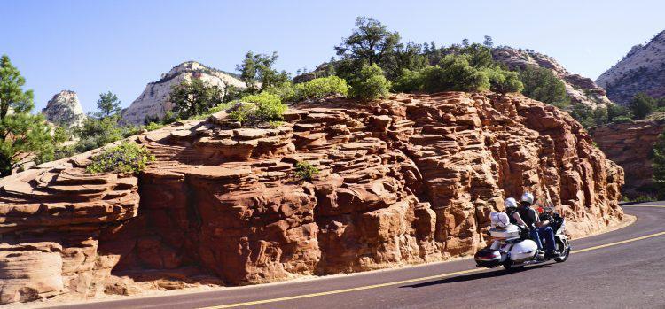 Zion National Park Utah National Park Biker Paradise