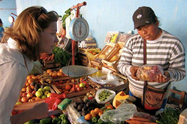 Authentic Food Quest Argentina Book Review - Market in Argentina