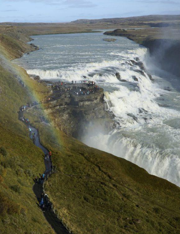 Golden Circle Tour Iceland - Gullfoss