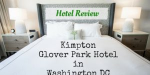 Kimpton Glover Park Hotel Washington DC: Hotel Review