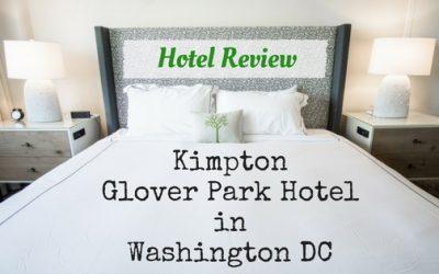 Kimpton Glover Park Hotel Washington DC: Hotel Review