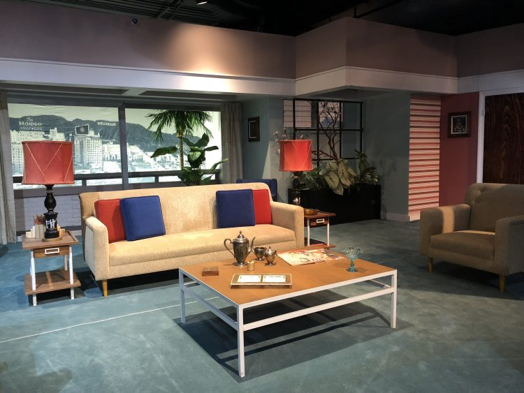 Miami Living Room Film Set of the I Love Lucy Show - Lucille Ball Desi Museum Jamestown New York
