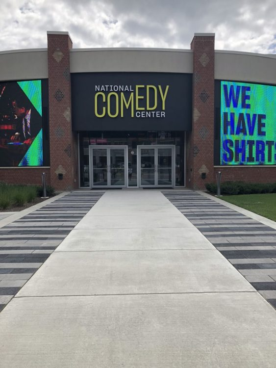 Entrance to the National Comedy Center