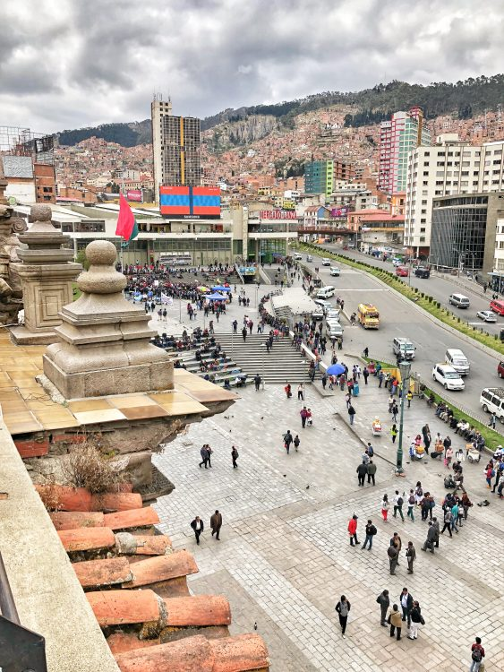 View over La Paz - Things to do in La Paz Bolivia