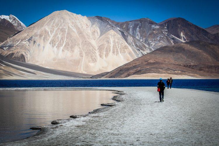 Hiking between lakes in Leh, Ladakh
