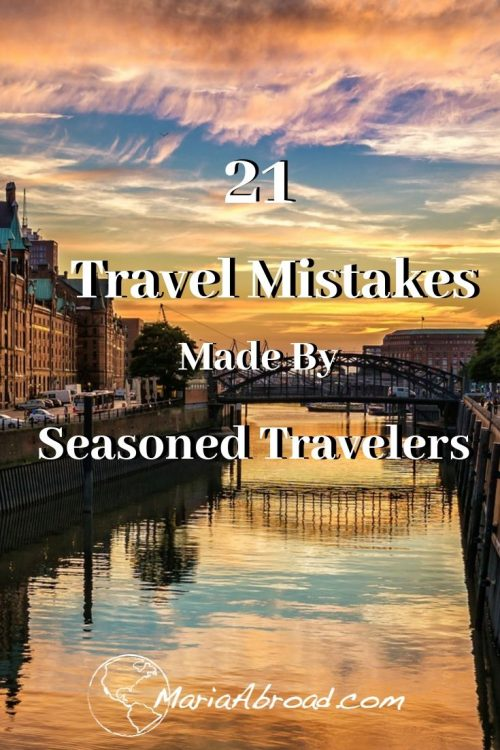 Read this before you take any trip. Everyone makes mistakes by luckily experts make them before you do. Learn from these seasoned travelers to ensure your trip is a smooth one. #worldlytrip #worldtravel #travelitinerary #traveltips #travel #travelmistakes #mariaabroad #packingtips #traveling